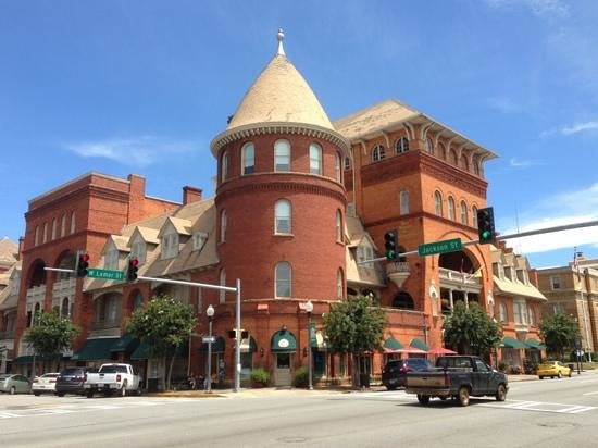 Little Brother's Bistro: from afar, along with The Windsor Hotel