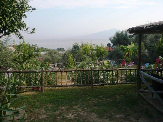 Casale Antonietta: vista dal giardinetto comune