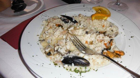 Konoba Volta: risotto ai frutti di mare