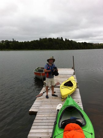 Caleb's Outlook: Launching boats