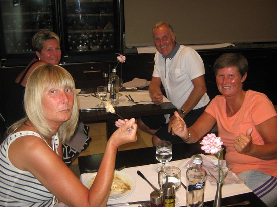 Hotel Son Matias Beach: brother in laws birthday