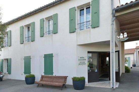 Hotel La Galiote : Entrée accueil