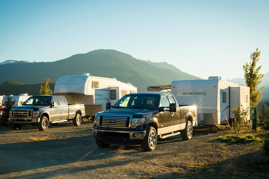 Whistler RV Park & Campgrounds: RV site