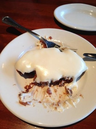 J Alexander's: digging into the carrot cake