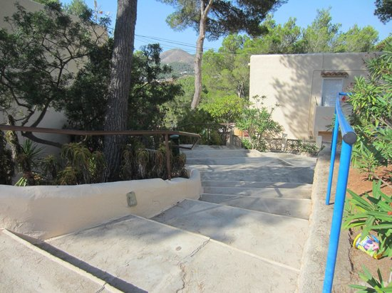 Globales Montemar Apartments: the steps to M block