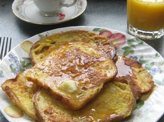 Mansfield Park Bed and Breakfast: French Toast