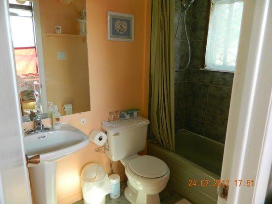 Mansfield Park Bed and Breakfast: Queen Suite Bathroom