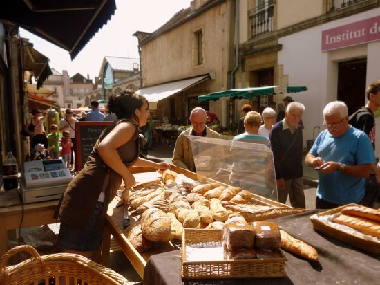Dijon, France : Baguettes & co.