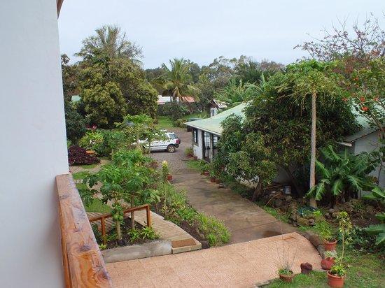 Tea Nui - Cabanas y Habitaciones: El balcon