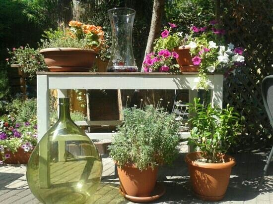 Trattoria Il Portale: la décoration florale