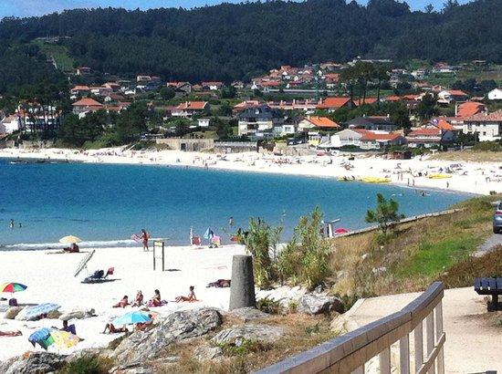Sanxenxo, Espagne : Playa de Areas