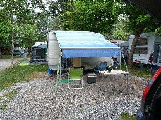 Camping Vall De Camprodon: Calle Colonia Estebanell, parcela 3