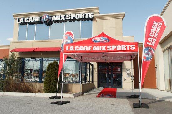 La Cage - Brasserie sportive