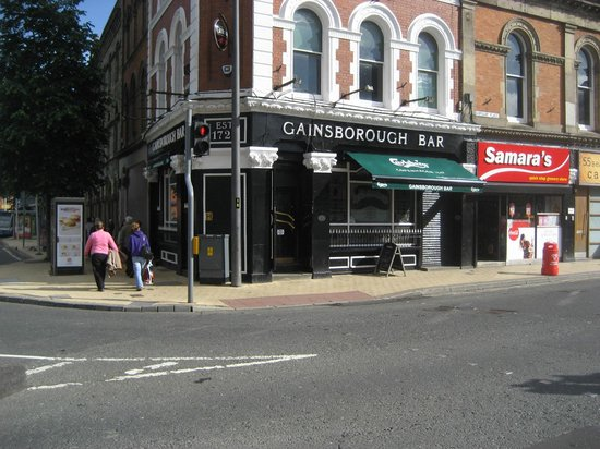 Gainsborough Bar: Bar entrance