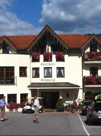 Sporthotel Schönruh: vista hotel