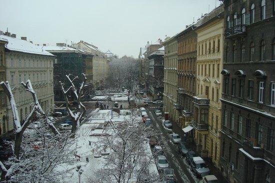 Medosz Hotel : Вид из номера