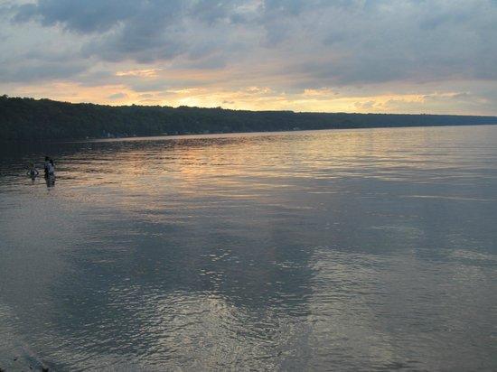 Taughannock Falls State Park: Cayuga Lake View