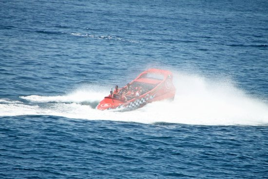 Cabo Thriller Jet Boat: 360° Spin ... pure ADRENALINE !!!