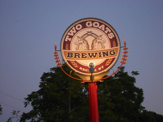 Two Goats Brewing: Entering Two Goats Brewery
