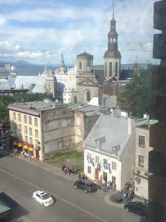 Hotel Clarendon : View from our room