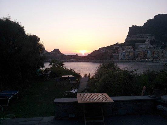 La Casa del Pescatore : tramonto