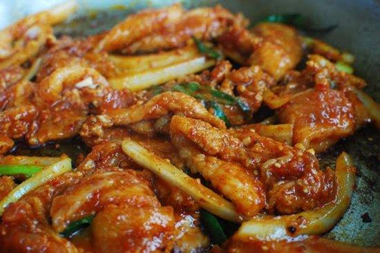 Jinju Korean Restaurant Spicy Pork Bulgogi