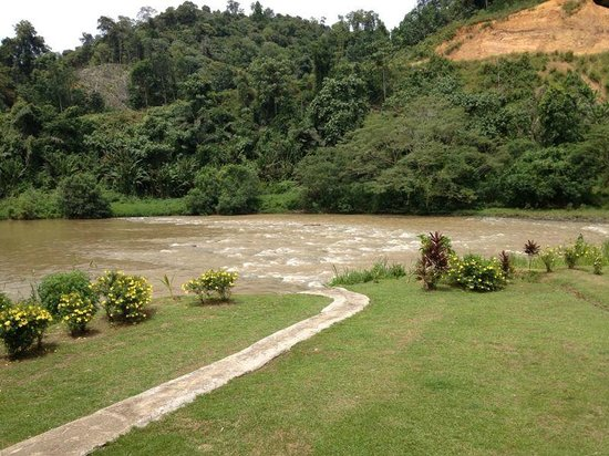 Borneo Rapid Outdoor Adventurers: Part of the river for water rafting
