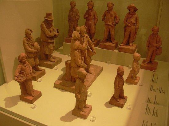 Château-Musée : Sculptures en terre