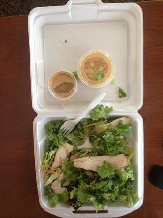 Salsa Brava : This is the $10 Fiesta Chicken Salad....very sad!