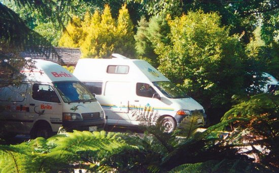 Rotorua Thermal Holiday Park : camper van sites