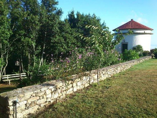 A Torre de Laxe: jardin