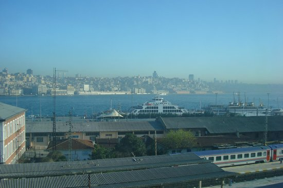 Golden Horn Istanbul: Вид из ресторана