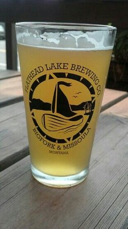 Flathead Lake Brewing Company: Yum!