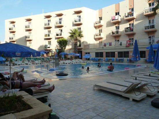 San Pawl Hotel: Piscina
