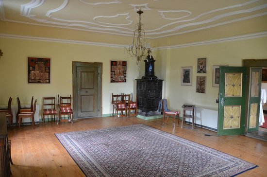 Hotel Schloss Eggersberg: The day room for hanging out
