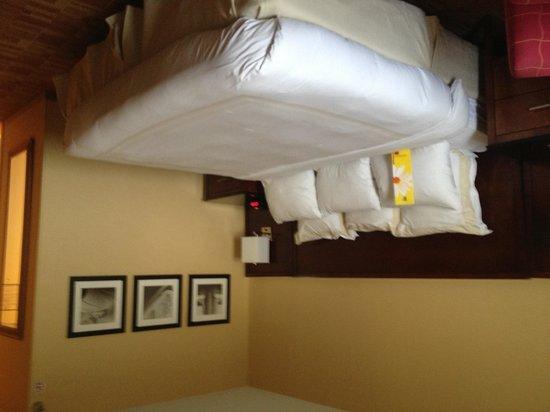 Atlanta Airport Marriott: The room1