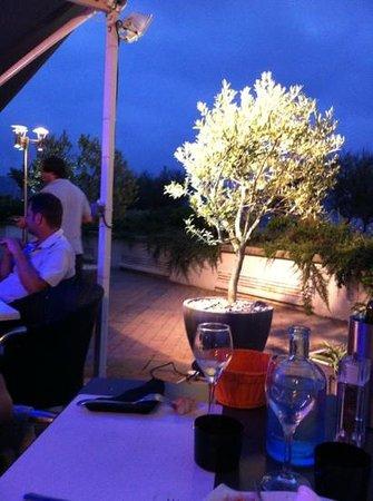 Olivier: un petit bout de la terrasse