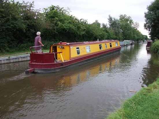Innkeeper's Lodge Solihull, Knowle: Canal boat