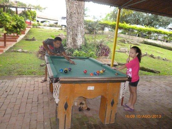 Viver Hotel Fazenda: jogando