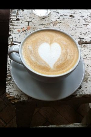 Cafe 1901: coffee made with love <3