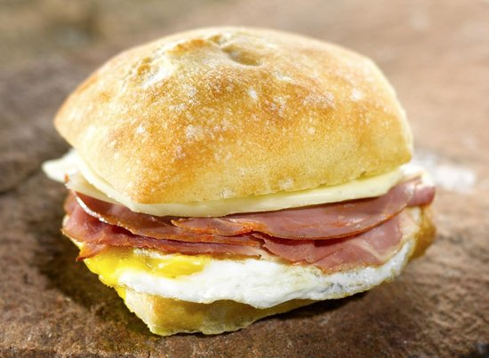 Backcountry Delicatessen: If you're looking for a lighter fare, try one of our breakfast sandwiches.