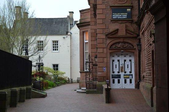 Tullie House: Side Entrance