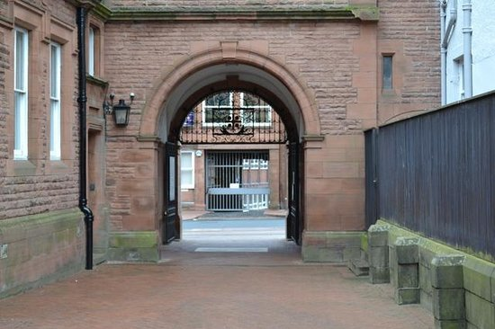 Tullie House: Archway