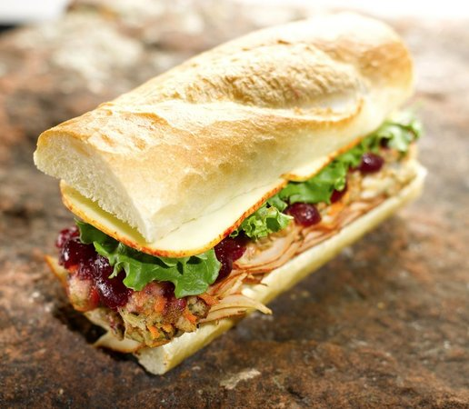 Backcountry Delicatessen: Try one of our specialty sandwiches or build your own.