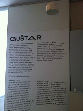 DOX Centre for Contemporary Art: Gustar Exhibit