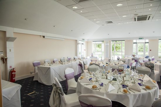 Best Western Chilworth Manor Hotel: Lord Selborne - Set up for our wedding.