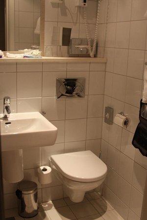 Hotel Bristol: Bathroom;   Liked the heated floors