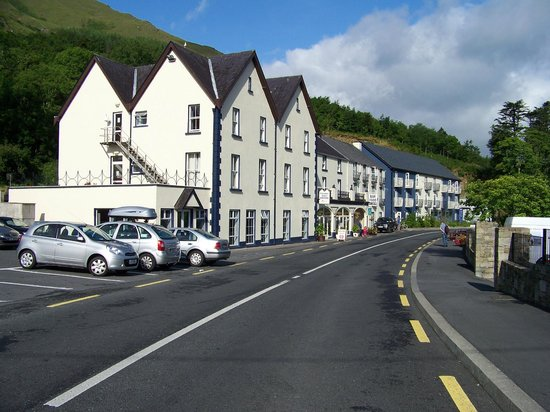 The Leenane Hotel, cliften road, connemara, Galway, Ireland.
