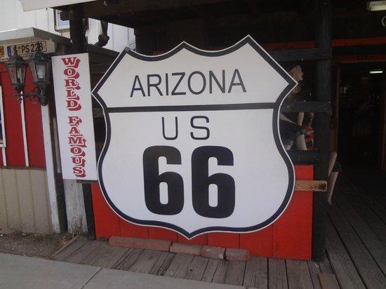Downtown Williams Historic Walk: Historic Route 66