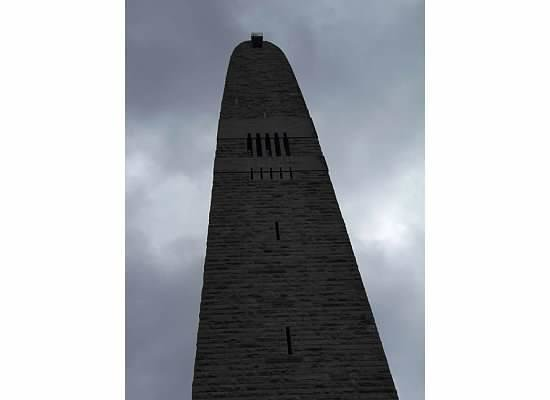 Bennington Battle Monument: A huge tower